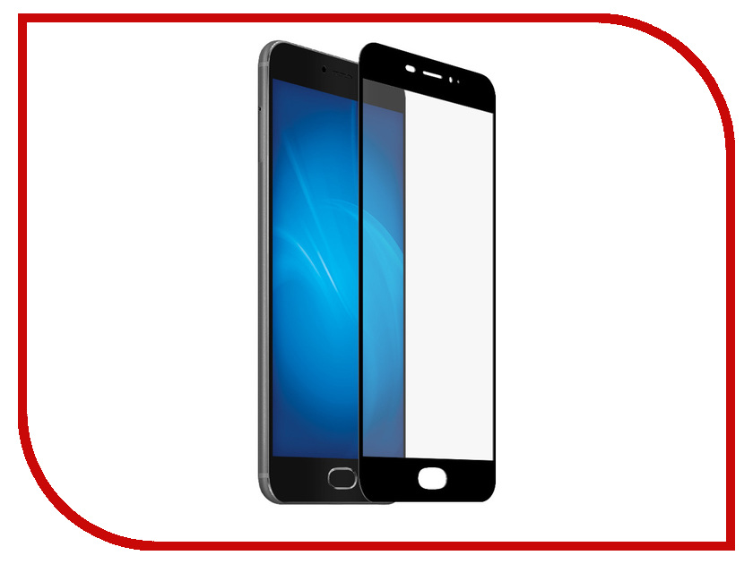 Аксессуар Защитное стекло для Meizu M5 Note Ainy Full Screen Cover 0.33mm Black AF-MC678A for meizu m2 note meilan note2 lcd display touch screen digitizer assembly replacement parts free shipping with tools as gift