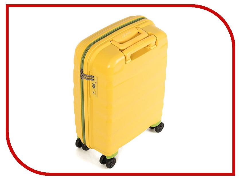 Чемодан Baudet BHL0708807 h-60cm 78.6L Yellow-Green