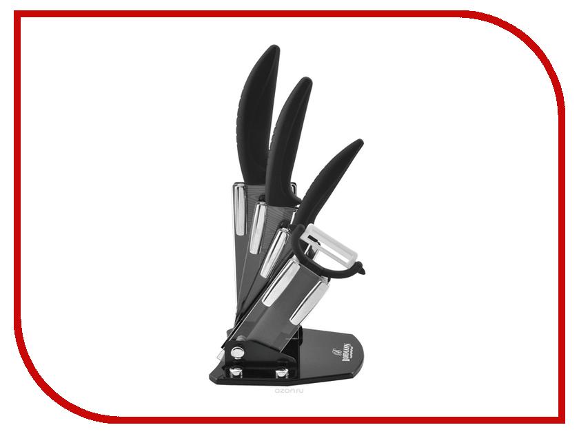 Набор ножей Bohmann BH-5245 чайник eurostek со свистком 3 л esk 3060