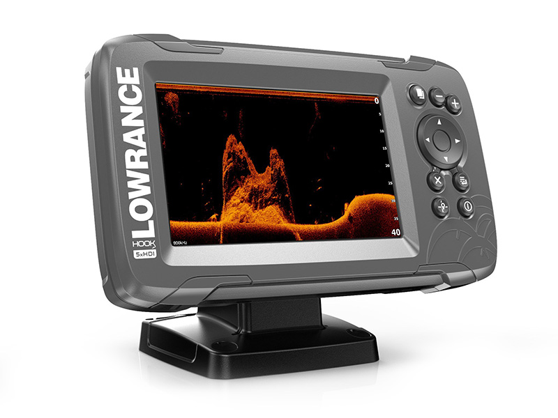 Эхолот Lowrance HOOK2 5x GPS Splitshot эхолот lowrance hook 4x mid high downscan