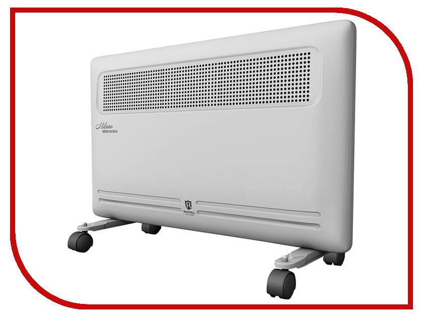 Конвектор Royal Clima Milano elettronico REC-M1500E конвектор royal clima rec mp1500m milano plus