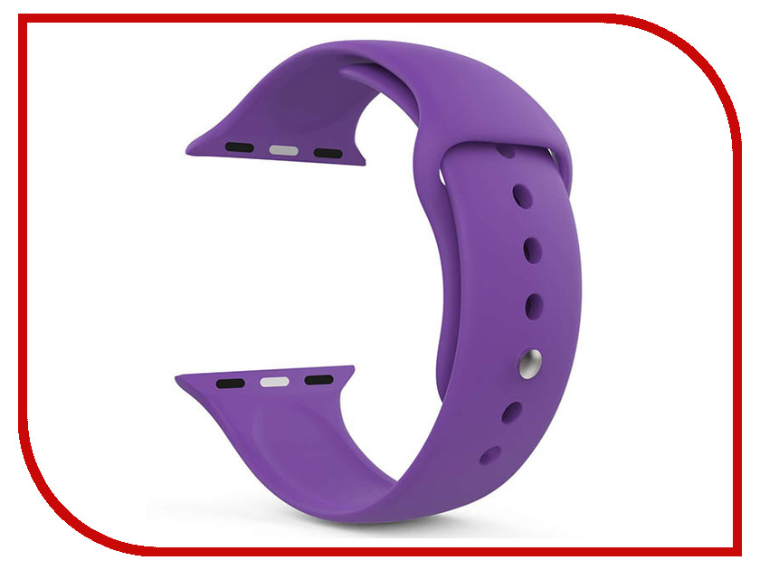 Аксессуар Ремешок Gurdini Sport Silicone для APPLE Watch 38mm Ultra Violet 906165 gp cr2032 3v lithium cell button battery 5 piece pack