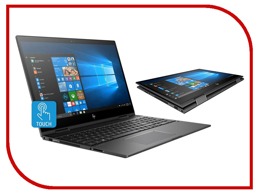 Ноутбук HP Envy x360 15-cn0011ur Dark Silver 4GR27EA (Intel Core i7-8550U 1.8 GHz/12288Mb/1000Gb+128Gb SSD/nVidia GeForce MX150 4096Mb/Wi-Fi/Bluetooth/Cam/15.6/1920x1080/Windows 10 Home 64-bit) ноутбук hp envy 17 bw0003ur 4gr89ea natural silver intel core i7 8550u 1 8 ghz 12288mb 1000gb 128gb ssd dvd rw nvidia geforce mx150 4096mb wi fi cam 17 3 1920x1080 windows 10 64 bit