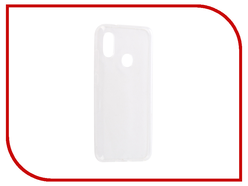 Аксессуар Чехол для Xiaomi Mi A2 Lite / Redmi 6 Pro Svekla Silicone Transparent SV-XIREDA2L-WH аксессуар чехол lg k8 2017 gecko transparent glossy white s g lgk8 2017 wh
