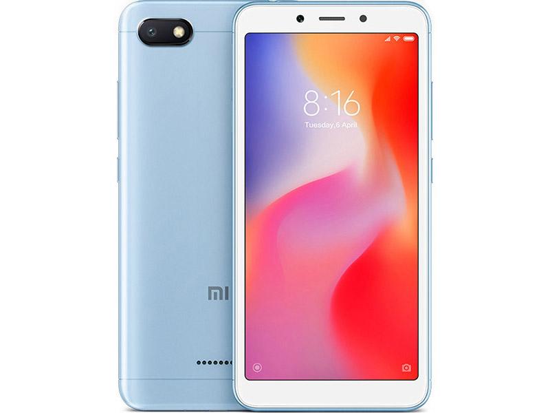 лучшая цена Сотовый телефон Xiaomi Redmi 6A 2/32GB Blue