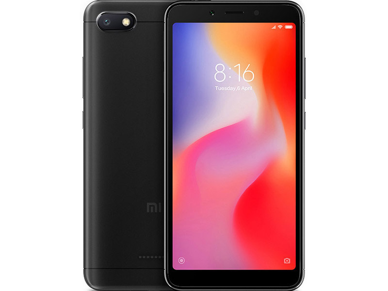 Сотовый телефон Xiaomi Redmi 6A 2/32GB Black колонка phonic acumen 6a black