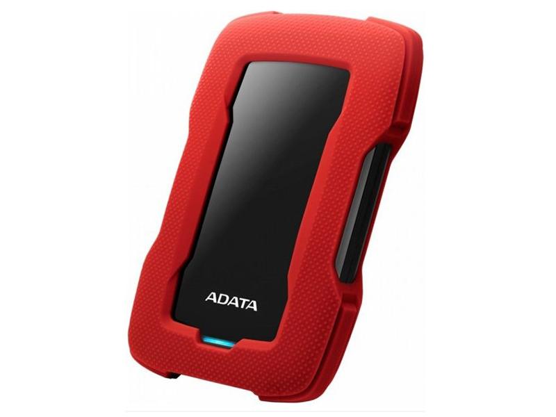 Жесткий диск A-Data DashDrive Durable HD330 4Tb Red AHD330-4TU31-CRD жесткий диск a data usb 3 0 4tb ahd330 4tu31 crd hd330 dashdrive durable 2 5 красный