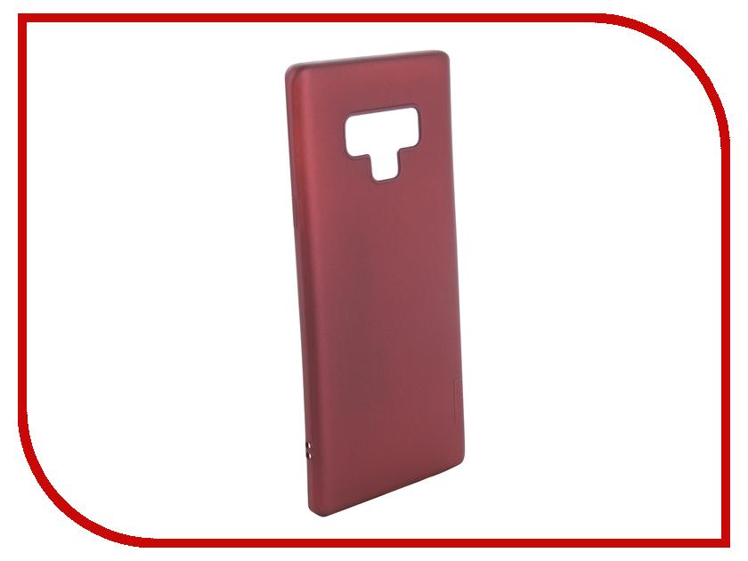 Аксессуар Чехол для Samsung Galaxy Note 9 X-Level Guardian Series Bordo 2828-171 аксессуар чехол для honor 9 x level guardian series black 2828 095