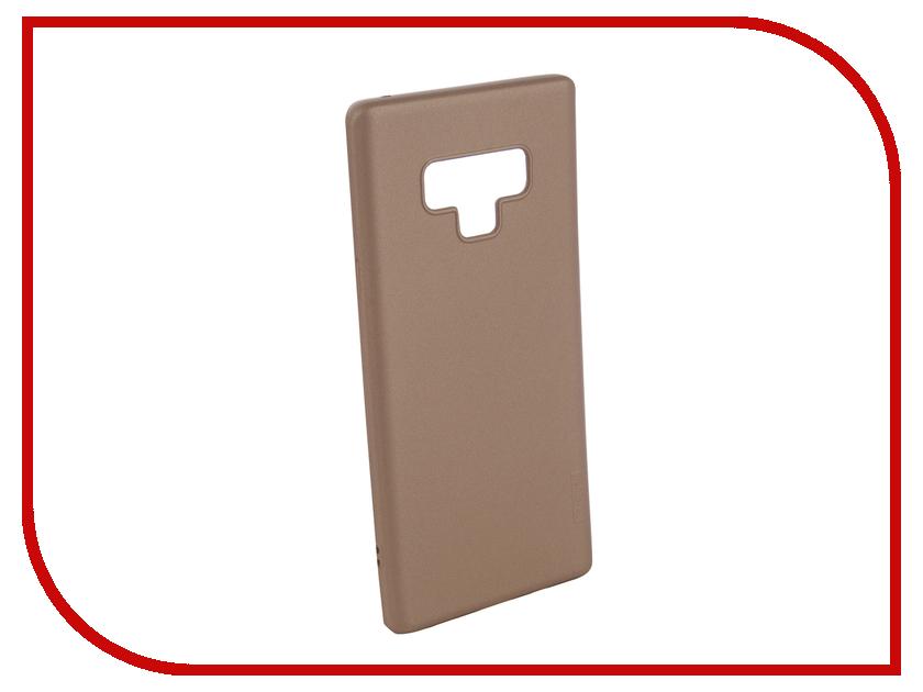 Аксессуар Чехол для Samsung Galaxy Note 9 X-Level Guardian Series Gold 2828-172 аксессуар чехол для honor 9 x level guardian series black 2828 095