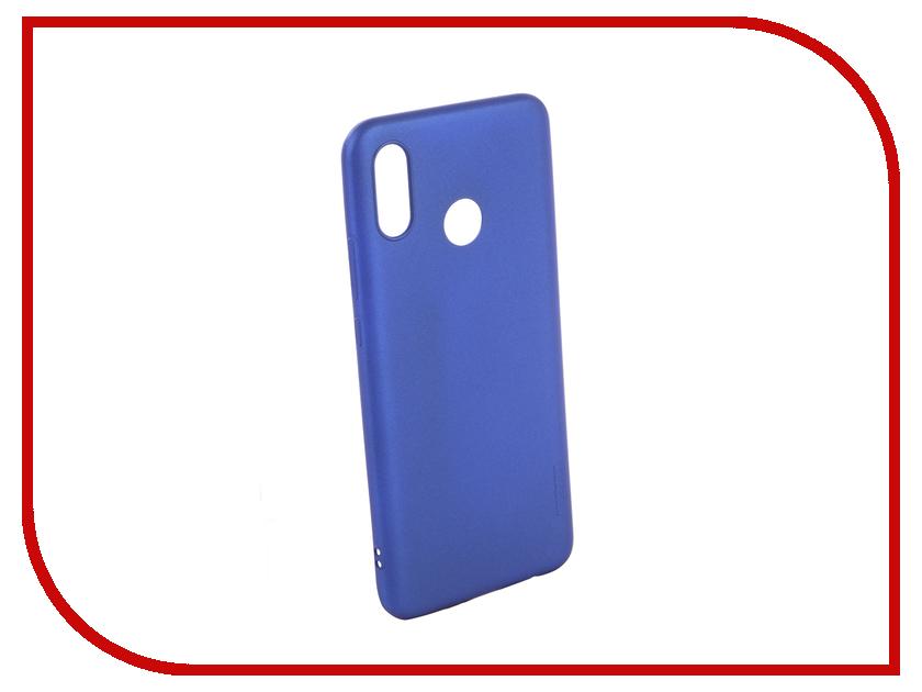 Аксессуар Чехол для Huawei Nova 3 X-Level Guardian Series Blue 2828-178