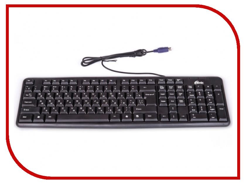 Zakazat.ru: Клавиатура Ritmix RKB-103 PS/2 Black