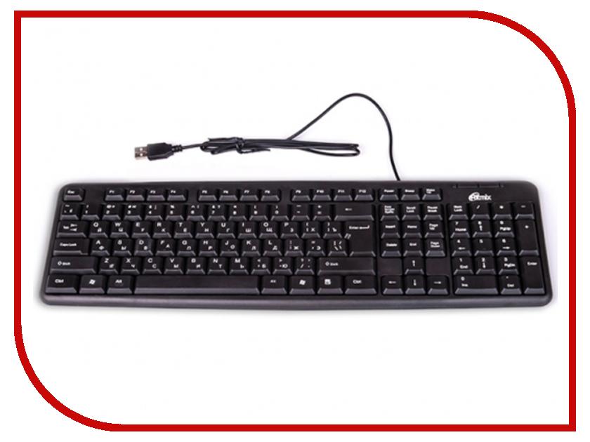 Клавиатура Ritmix RKB-103 USB Black