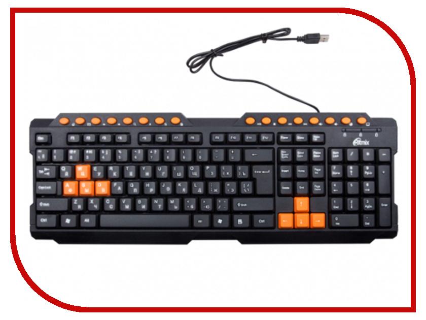 Клавиатура Ritmix RKB-151 Black