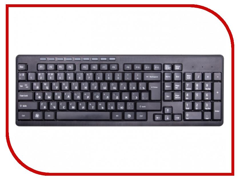 Клавиатура Ritmix RKB-255W Black ritmix rkb 103 usb клавиатура
