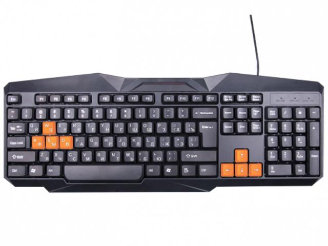 Клавиатура Ritmix RKB-152 Black