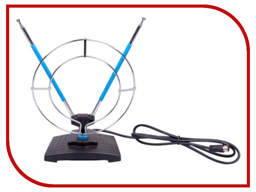 Антенна Ritmix RTA-010 Black-Blue антенны телевизионные ritmix антенна телевизионная