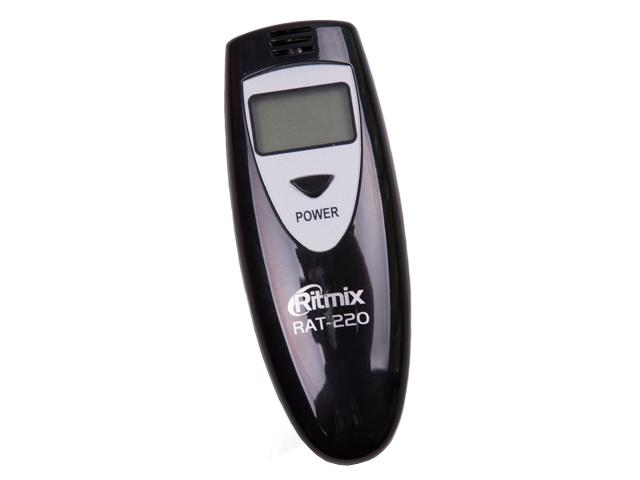 Алкотестер Ritmix RAT-220 Black