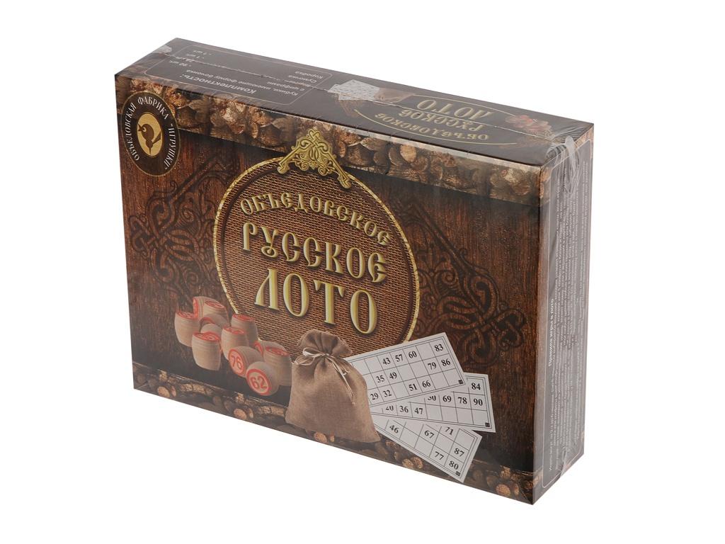 Настольная игра ОФ Игрушки Объедовское Русское лото ОФ3 / 180-18