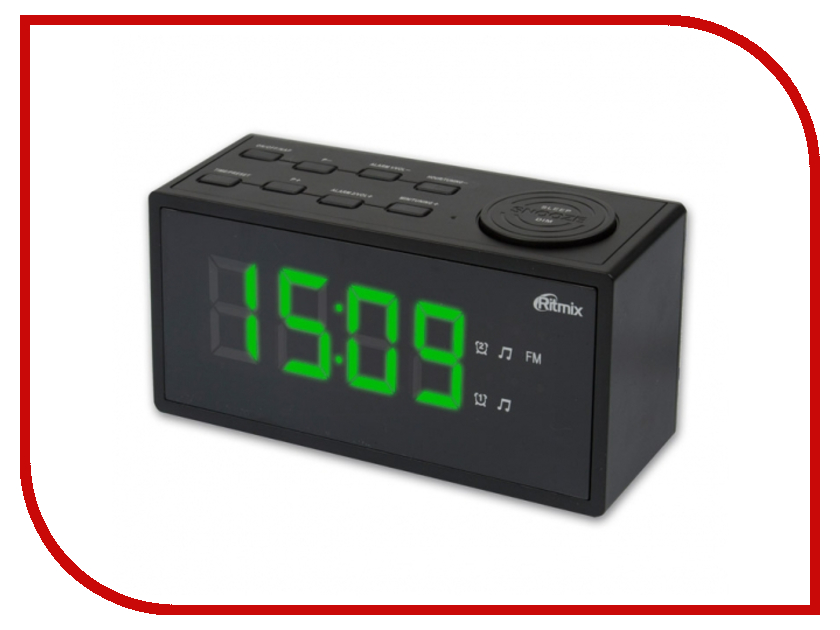 Часы Ritmix RRC-1212 Black аккумулятор security force sf 1212