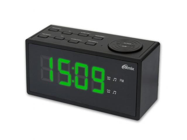 Часы Ritmix RRC-1212 Black универсальный пульт ду для тв rolsen rrc 120 rrc 120