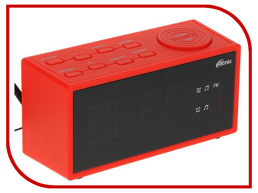 Часы Ritmix RRC-1212 Red ritmix rrc 818 white