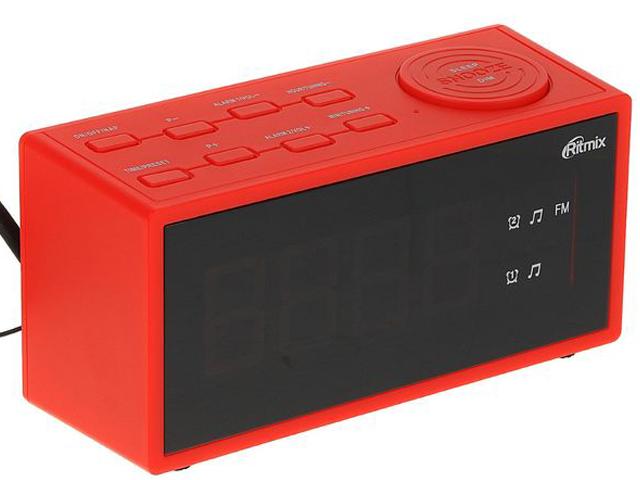 Часы Ritmix RRC-1212 Red универсальный пульт ду для тв rolsen rrc 120 rrc 120