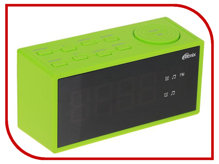 Часы Ritmix RRC-1212 Green ritmix rrc 818 white