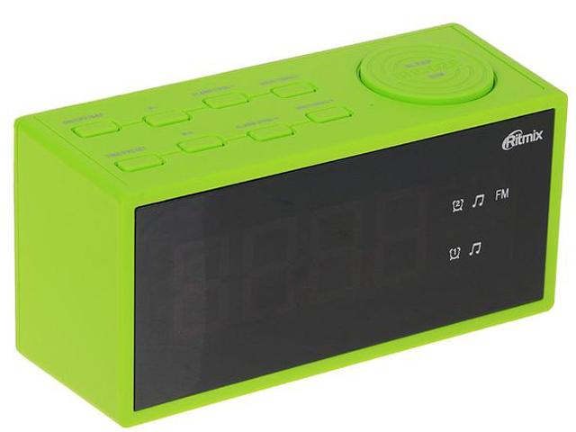лучшая цена Часы Ritmix RRC-1212 Green