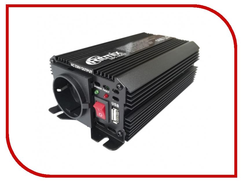 Автоинвертор Ritmix RPI-4002 Black с 12В на 220В автоинвертор rolsen rci 500 500вт с 12в на 220в