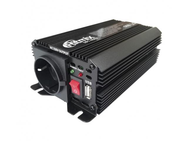 цена на Автоинвертор Ritmix RPI-4002 Black с 12В на 220В
