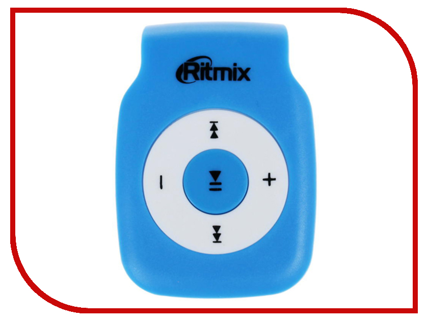Плеер Ritmix RF-1015 Blue mp3 плеер ritmix rf 1015 голубой