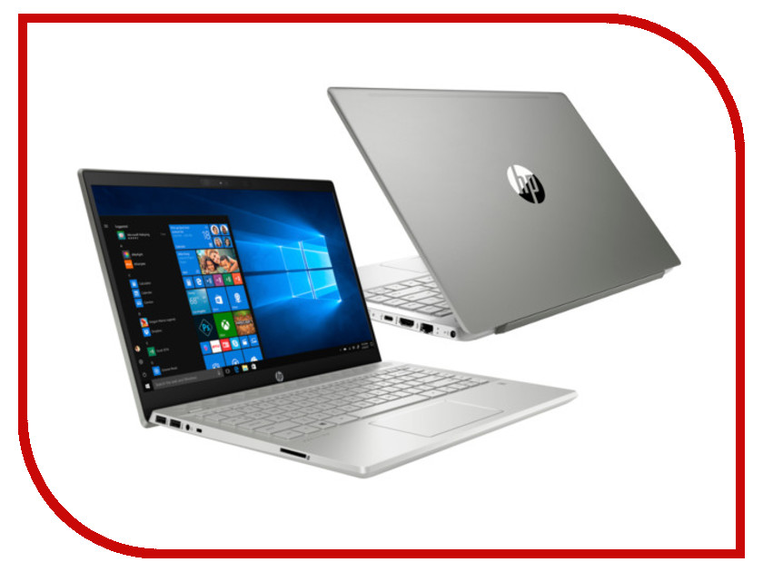 Ноутбук HP Pavilion 14-ce0019ur Silver 4GT24EA (Intel Core i5-8250U 1.6 GHz/8192Mb/256Gb SSD/Intel HD Graphics/Wi-Fi/Bluetooth/Cam/14.0/1920x1080/Windows 10 Home 64-bit)