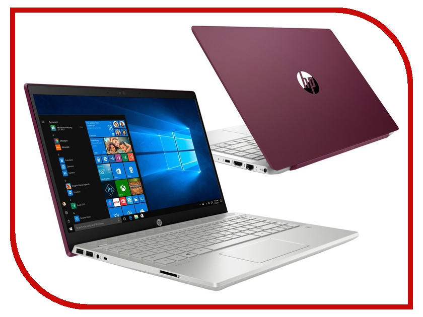 Ноутбук HP Pavilion 14-ce0020ur Vinous 4HA62EA (Intel Core i5-8250U 1.6 GHz/8192Mb/256Gb SSD/Intel HD Graphics/Wi-Fi/Bluetooth/Cam/14.0/1920x1080/Windows 10 Home 64-bit) цена