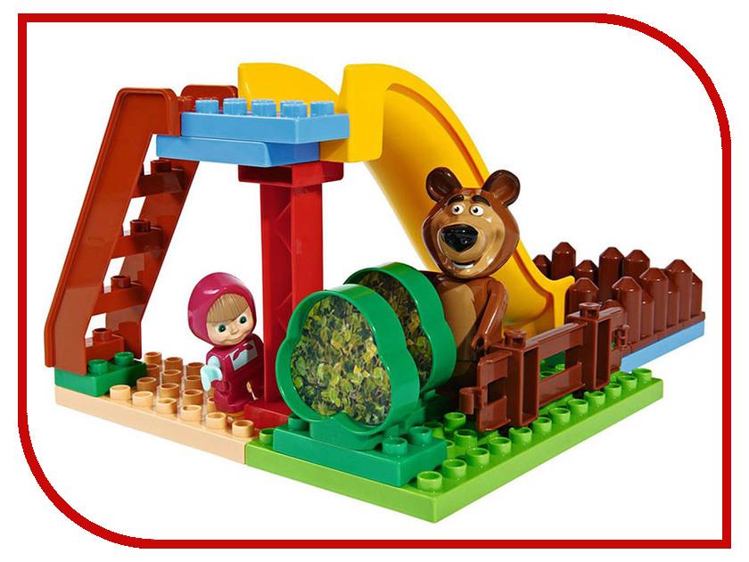 Конструктор Big Маша и Медведь Бассейн 29 дет big конструктор маша и медведь бассейн