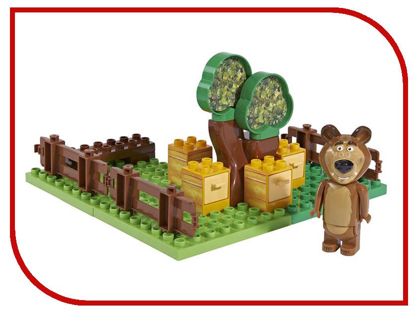 Конструктор Big Маша и Медведь Пчелиная ферма Мишки 21 дет big big конструктор маша и медведь бассейн 29 деталей
