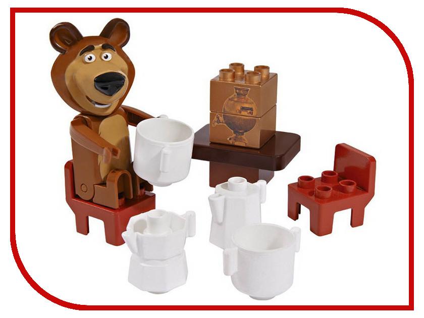 Конструктор Big Маша и Медведь Стартовый набор big конструктор маша и медведь бассейн