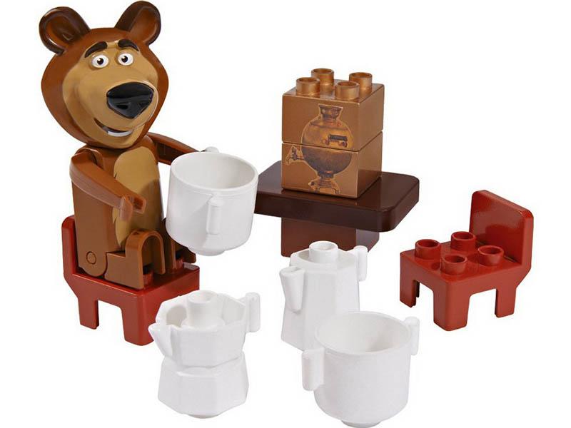Конструктор Big Маша и Медведь Стартовый набор