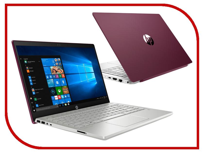 Ноутбук HP Pavilion 14-ce0028ur Vinous 4GS63EA (Intel Core i7-8550U 1.8 GHz/16384Mb/1000Gb+256Gb SSD/nVidia GeForce MX150 4096Mb/Wi-Fi/Bluetooth/Cam/14.0/1920x1080/Windows 10 Home 64-bit)