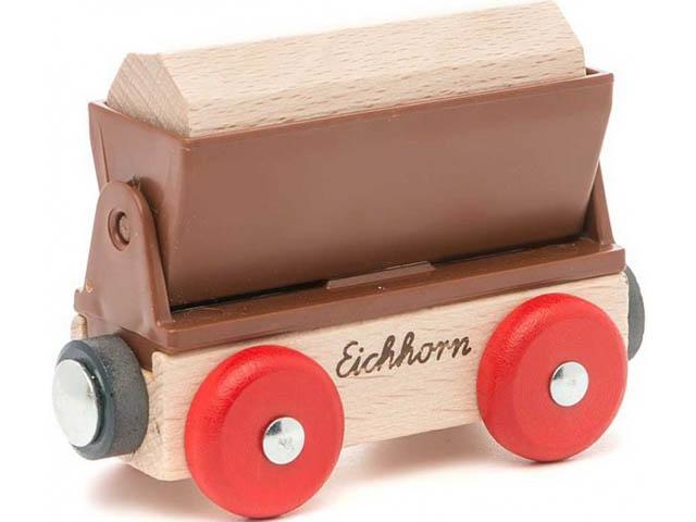 Игрушка Eichhorn Грузовой вагон 100001355