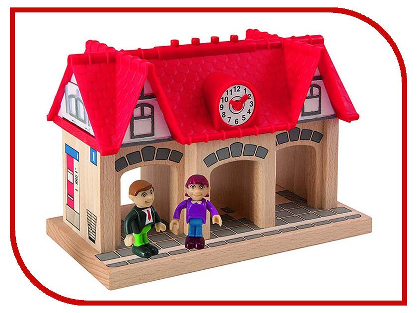 Игрушка Eichhorn Железнодорожная станция 100001514 игрушка eichhorn 100001364