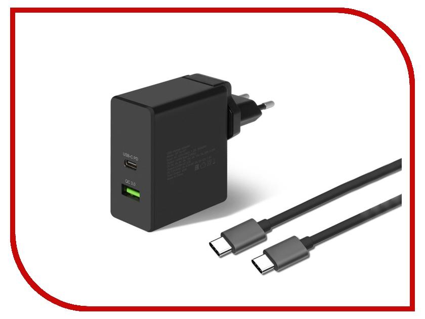 Зарядное устройство DF Tor-07 1xUSB QC 3.0 Type-C кабель Type-C/Type-C smc type pneumatic solenoid valve sy3120 2lze c6