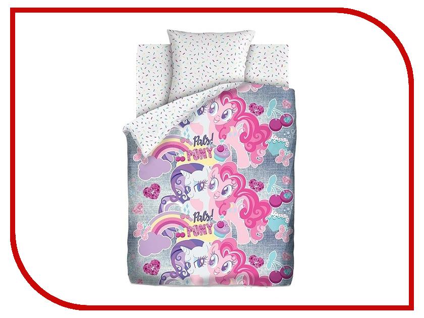 цена на Постельное белье Непоседа My little Pony Neon Подружки пони 16029-1/16030-1 Комплект 1.5 спальный Бязь 512423