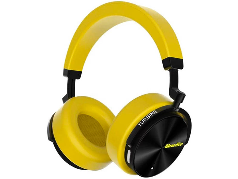 Наушники Bluedio T5 Yellow