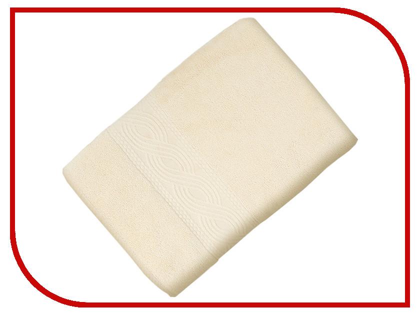 Полотенце Унисон Анкона 70x140cm Milk 514179
