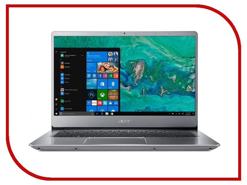Ноутбук Acer Swift SF314-54-573U NX.GXZER.004 Silver (Intel Core i5-8250U 1.6 GHz/8192Mb/256Gb SSD/No ODD/Intel HD Graphics/Wi-Fi/Cam/14.0/1920x1080/Windows 10 64-bit) ноутбук acer swift 5 sf514 52t 89uk nx gtmer 004 intel core i7 8550u 1 8 ghz 8192mb 512gb ssd no odd intel hd graphics wi fi bluetooth cam 14 0 1920x1080 touchscreen windows 10 64 bit