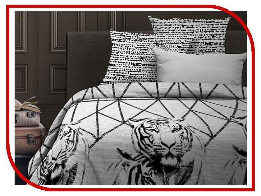 где купить Постельное белье Wenge Russian Cats 15836-1/15845-1 Комплект Евро Бязь 513398 дешево