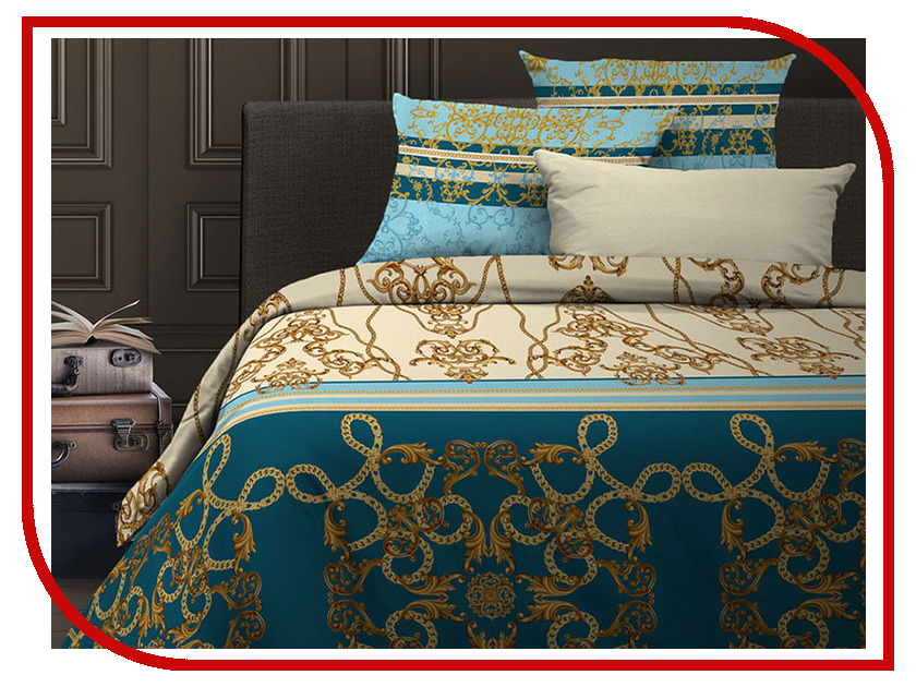 все цены на Постельное белье Wenge Hermes 6436-1 Комплект Евро Бязь 513397 онлайн