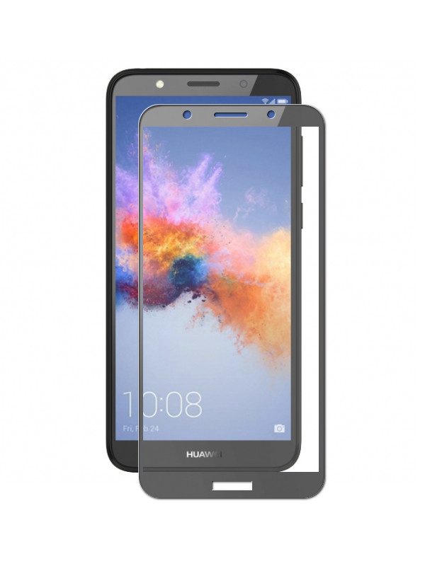 Аксессуар Защитное стекло LuxCase для Huawei Y5 2018 2.5D Full Screen Full Glue Black Frame 77876 аксессуар защитное стекло для samsung j8 luxcase 2 5d full glue black frame 77880