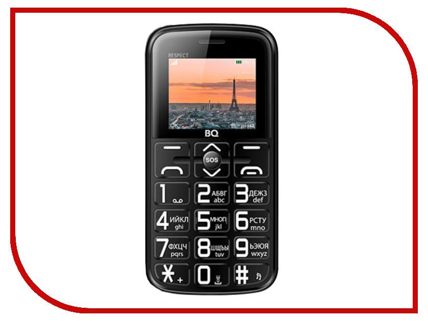 Сотовый телефон BQ BQ-1851 Respect Black сотовый телефон bq 2426 energy l black