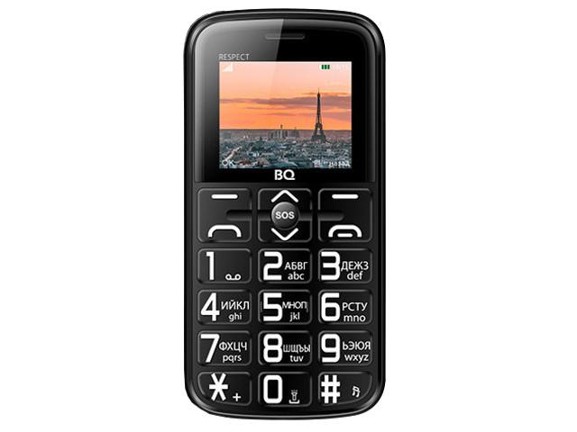 Сотовый телефон BQ BQ-1851 Respect Black цена и фото